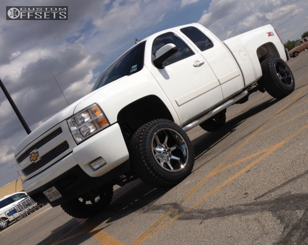 1 2007 Silverado 1500 Chevrolet Suspension Lift 6 Cali Offroad Busted Chrome Super Aggressive 3 5