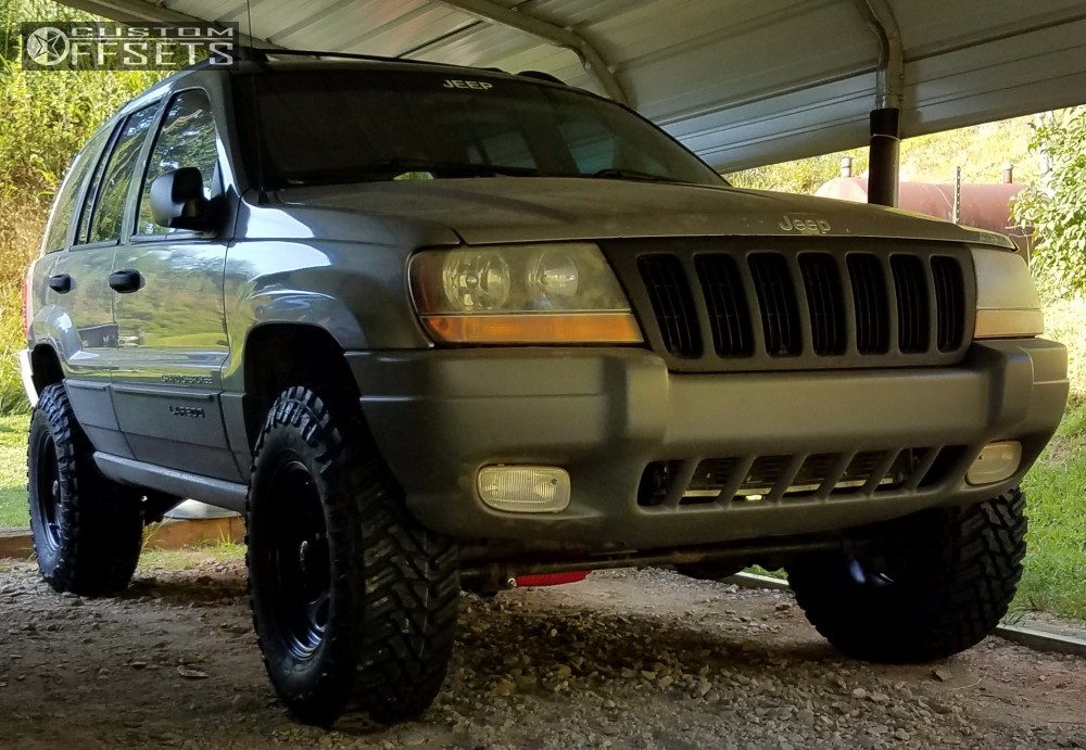 1999 Jeep Grand Cherokee Black Rock 997 Supreme Suspension