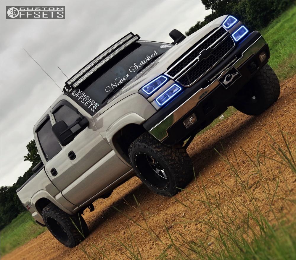 Silverado High Country Leveling Kit >> 2004 Chevrolet Silverado 1500 Gear Alloy Big Block Rough Country Leveling Kit