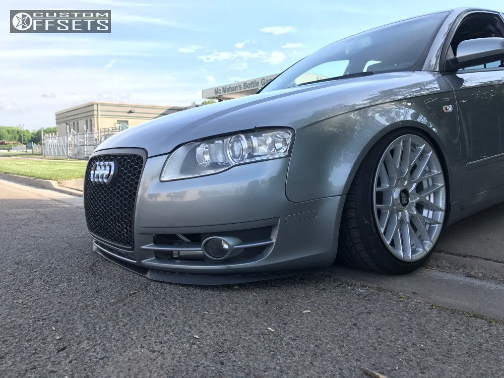 2006 audi a4 quattro rotiform rse bc racing coilovers. Black Bedroom Furniture Sets. Home Design Ideas