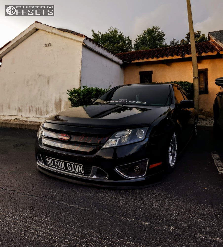 14 2010 Focus Ford Bagged Bbs Ci R Silver Tucked