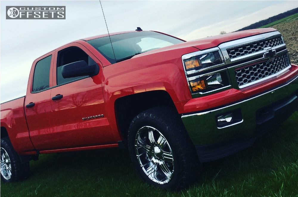 2014 Chevrolet Silverado 1500 Boss Other Rough Country Leveling Kit Custom Offsets
