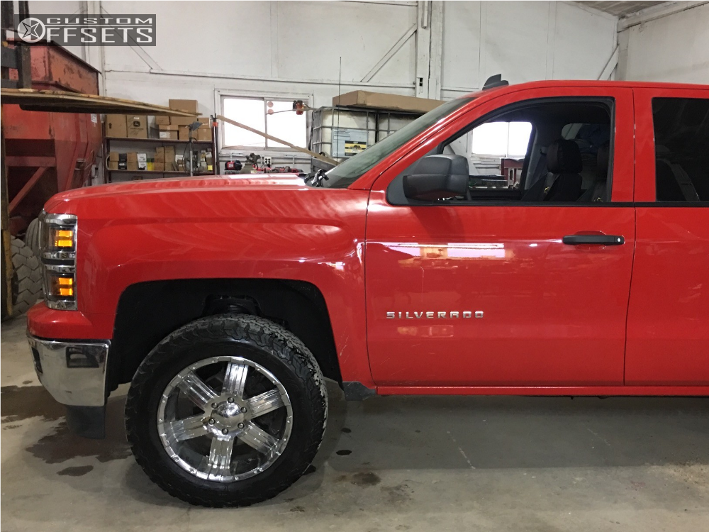 2014 Chevrolet Silverado 1500 Boss Other Rough Country Leveling Kit