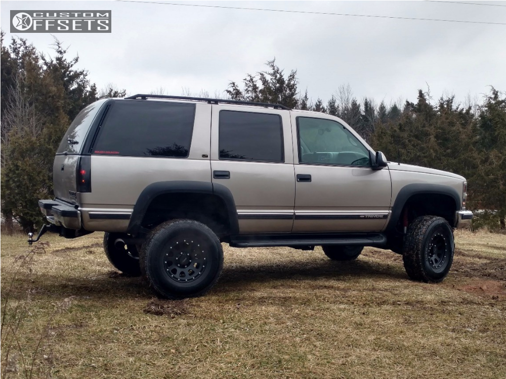 Cooper Discoverer Atp >> 1999 Chevrolet Tahoe Mb Wheels Mb11 Rough Country Suspension Lift 6in