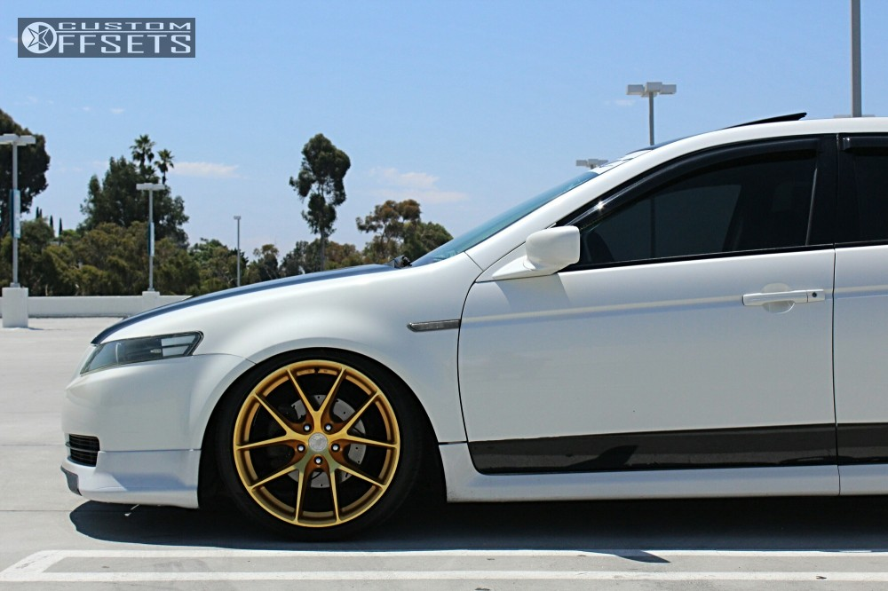Wheel Offset Acura Tl Tucked Coilovers - 2004 acura tl wheel size