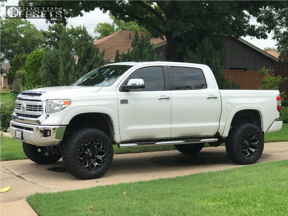 2014 Tundra Wheels >> 2014 Toyota Tundra Fuel Assault Bds Suspension Suspension Lift 7in