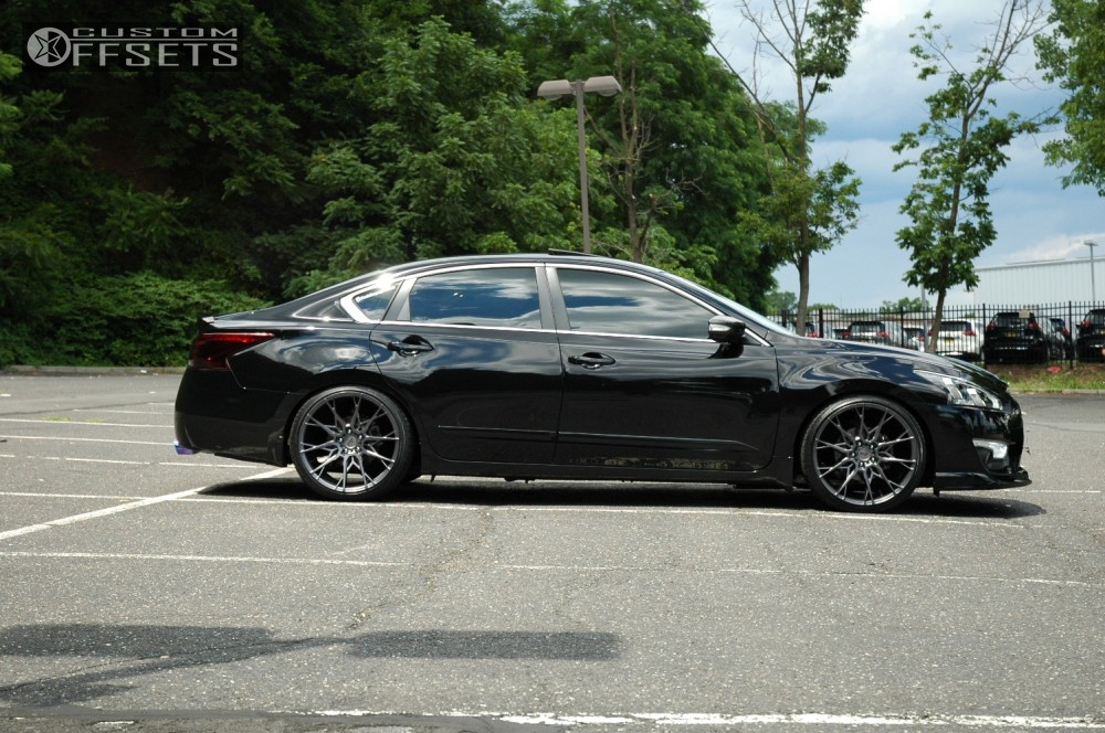 2015 nissan altima niche staccato bc racing coilovers. Black Bedroom Furniture Sets. Home Design Ideas