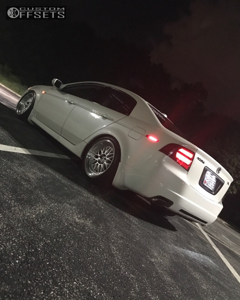 2007 Acura Tl Esr Sr01 Tein Coilovers Custom Offsets
