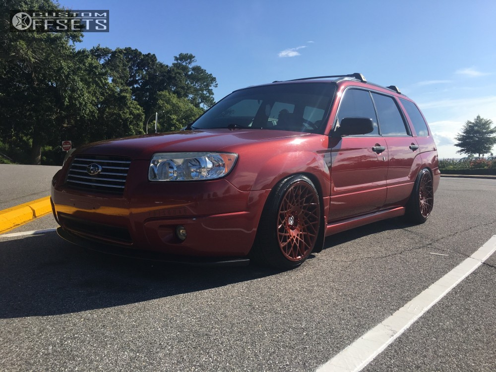 2006 Subaru Forester Art In Motion Ma1 Bc Racing Coilovers Custom
