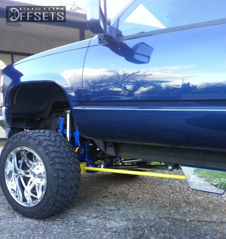 1996 Chevrolet Silverado 1500 Fuel Hostage Lifted 9in