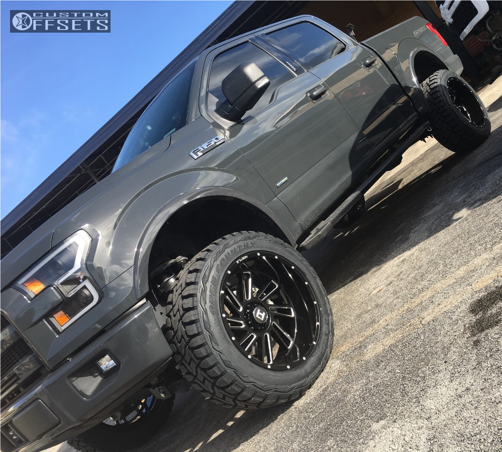 1 2016 F 150 Ford Suspension Lift 6 Hostile Stryker Machined Black Super Aggressive 3 5