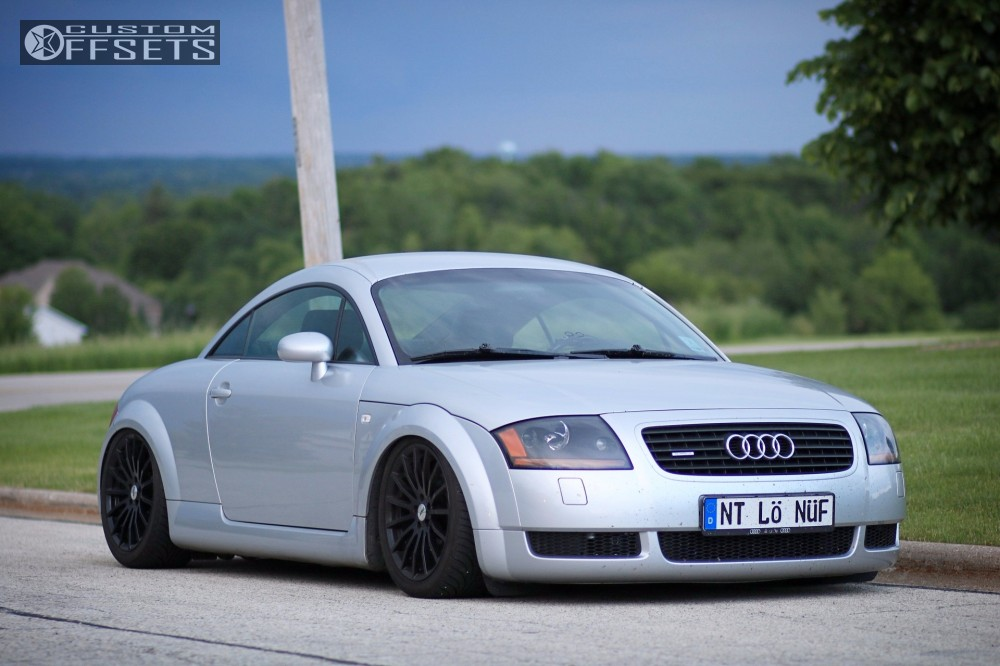 Audi Tt Quattro Tsw Mallory Air Lift Performance Air Suspension - 2001 audi tt quattro