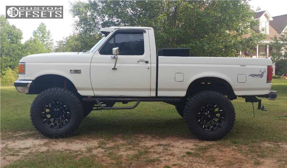1988 Ford F 150 Fuel Battle Axe Rough Country Suspension