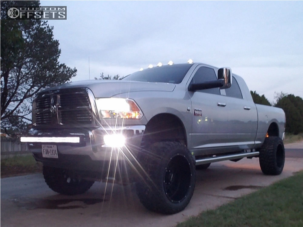2 2011 2500 Ram Suspension Lift 75 Vision Rocker Black Super Aggressive 3 5