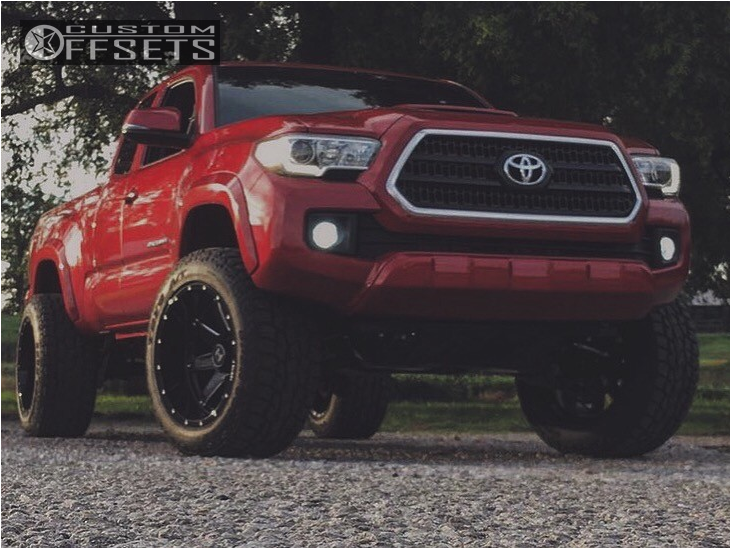 12 2017 Tacoma Toyota Suspension Lift 3 Hostile Alpha Machined Black Aggressive 1 Outside Fender