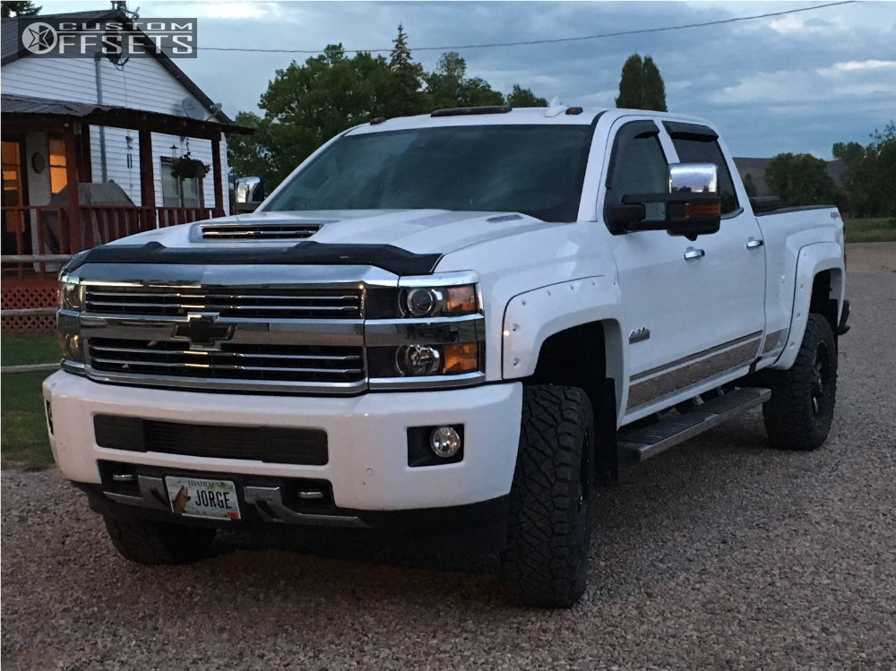 2017 chevrolet silverado 3500 hd fuel nutz oem leveling kit. Black Bedroom Furniture Sets. Home Design Ideas