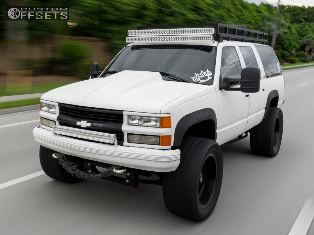 1999 chevrolet k2500 suburban fuel hostage pro comp suspension lift 6in offsets garage. Black Bedroom Furniture Sets. Home Design Ideas