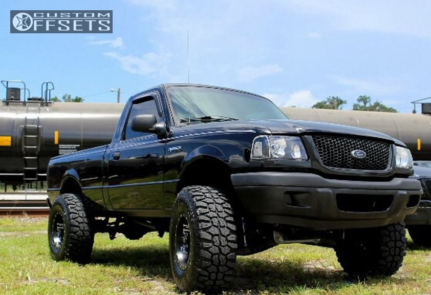 wheel offset 2002 ford ranger hella stance 5 leveling kit. Black Bedroom Furniture Sets. Home Design Ideas
