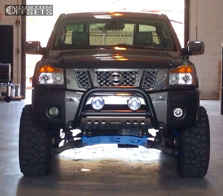 2010 Nissan Titan King Cab Camshaft: Wheel Offset 2010 Nissan Titan Super Aggressive 3 5