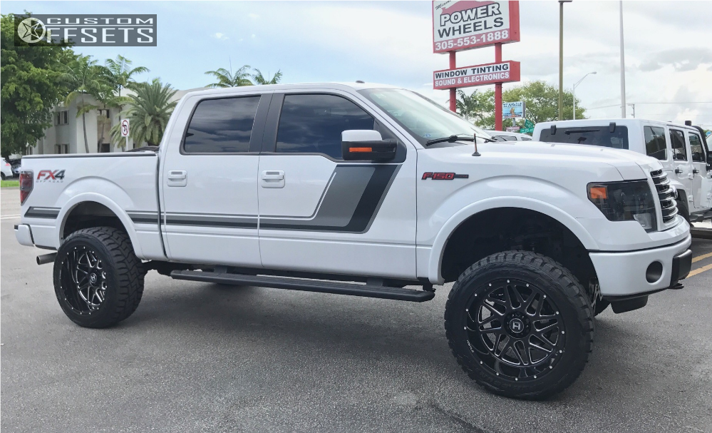 2014 F150 Accessories >> 2014 Ford F 150 Hostile Sprocket Rough Country Suspension Lift 6in