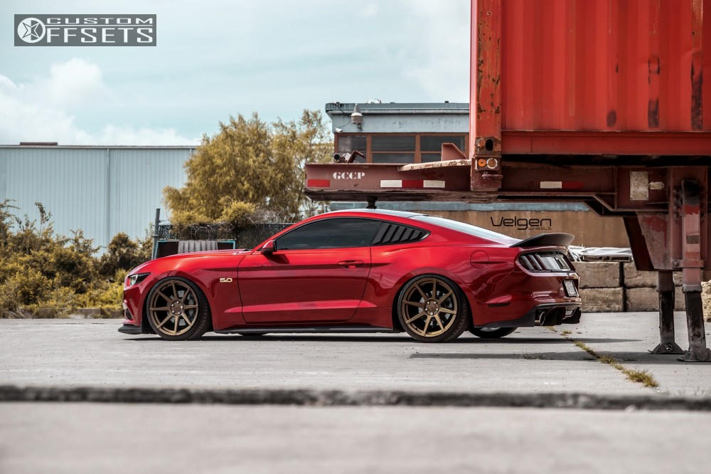 2016 Ford Mustang Velgen Vmb8 Accuair Air Suspension