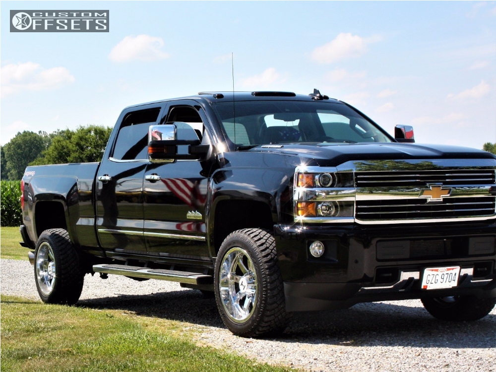 1 2016 Silverado 2500 Hd Chevrolet Stock Stock Hostile Alpha Chrome