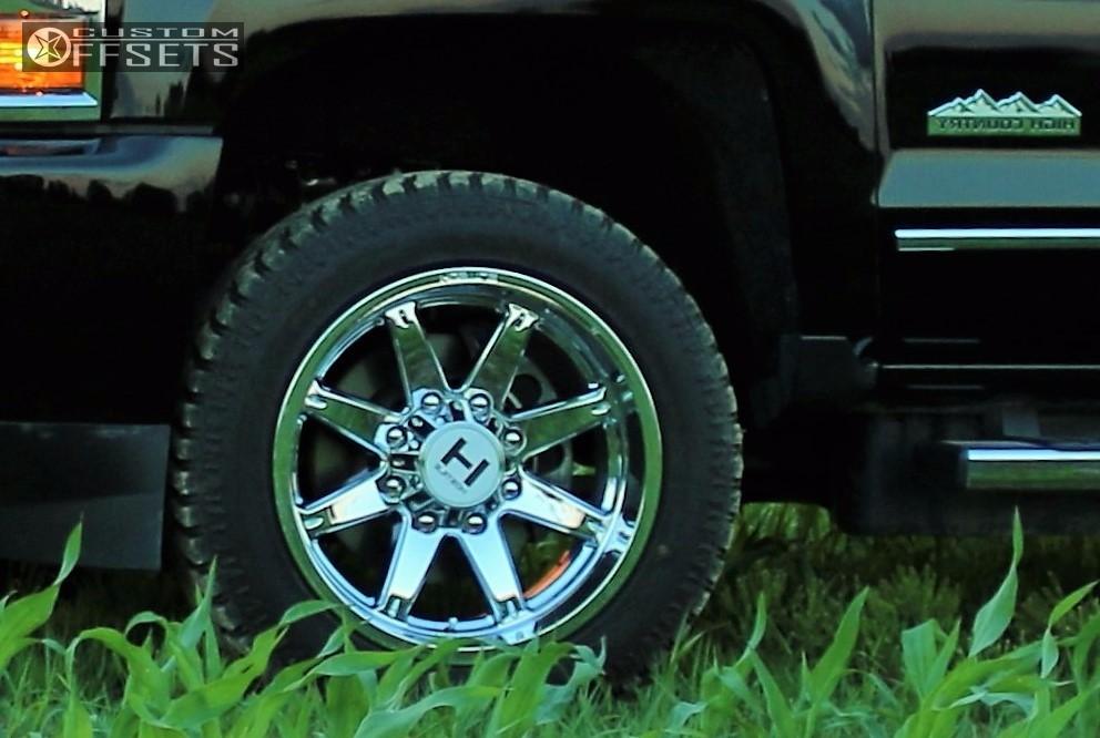 8 2016 Silverado 2500 Hd Chevrolet Stock Stock Hostile Alpha Chrome