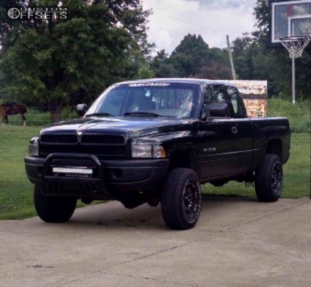 1996 dodge ram 1500 ultra phantom rough country leveling kit. Black Bedroom Furniture Sets. Home Design Ideas