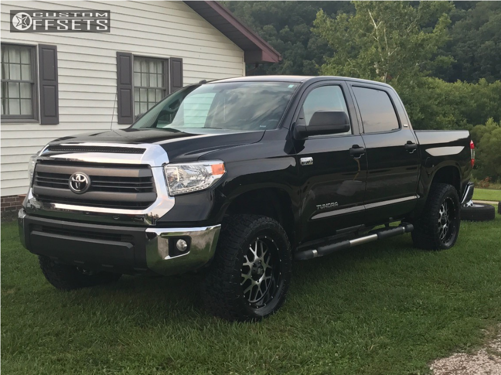 2014 toyota tundra xd xd820 rough country leveling kit. Black Bedroom Furniture Sets. Home Design Ideas