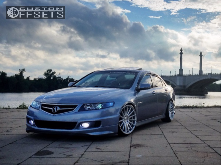 Acura Tsx Vossen Vfs Megan Racing Coilovers - 2018 acura tsx coilovers