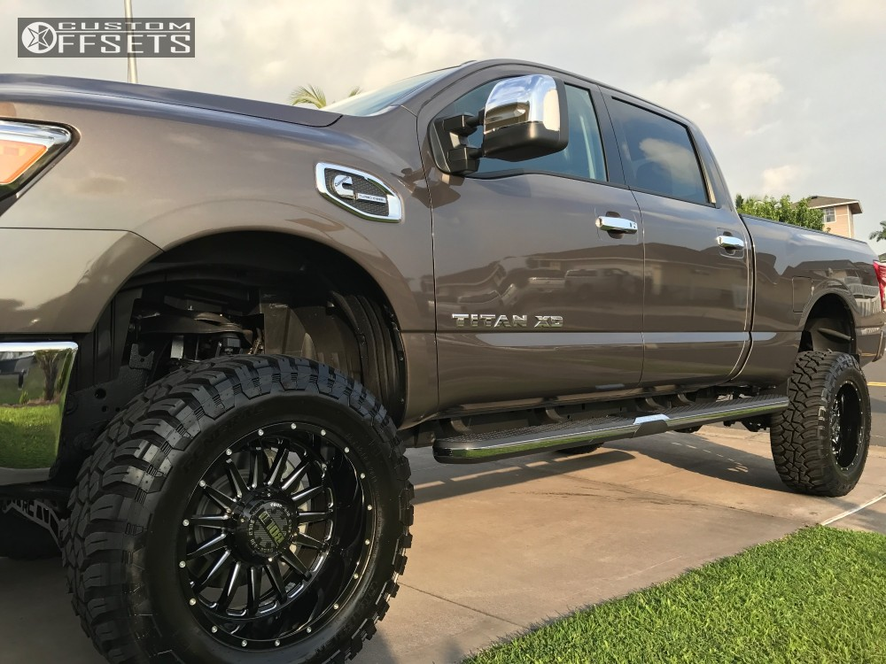 2016 nissan titan xd bold bd002 rough country suspension lift 6in. Black Bedroom Furniture Sets. Home Design Ideas