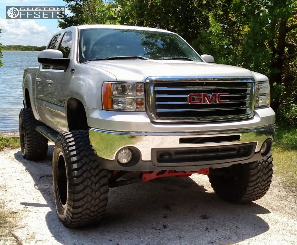2010 Gmc Sierra 1500 Fuel Krank Rough Country Lifted 9in