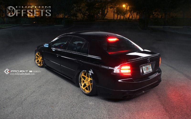 Wheel Offset Acura Tl Tucked Bagged Custom Rims - 2005 acura tl wheels