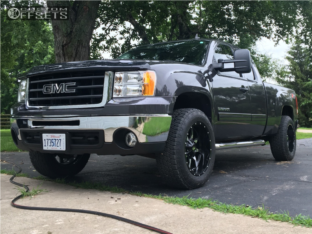2010 Gmc Sierra Wheels 2010 Gmc Sierra 1500 Moto Metal