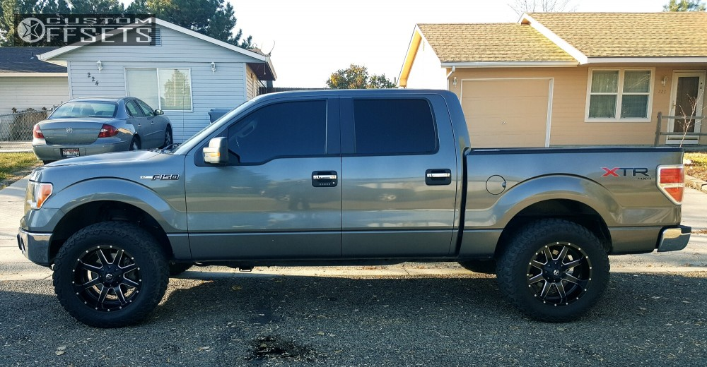Ford Rough Country Leveling Kit Fuel Maverick Machined Accents