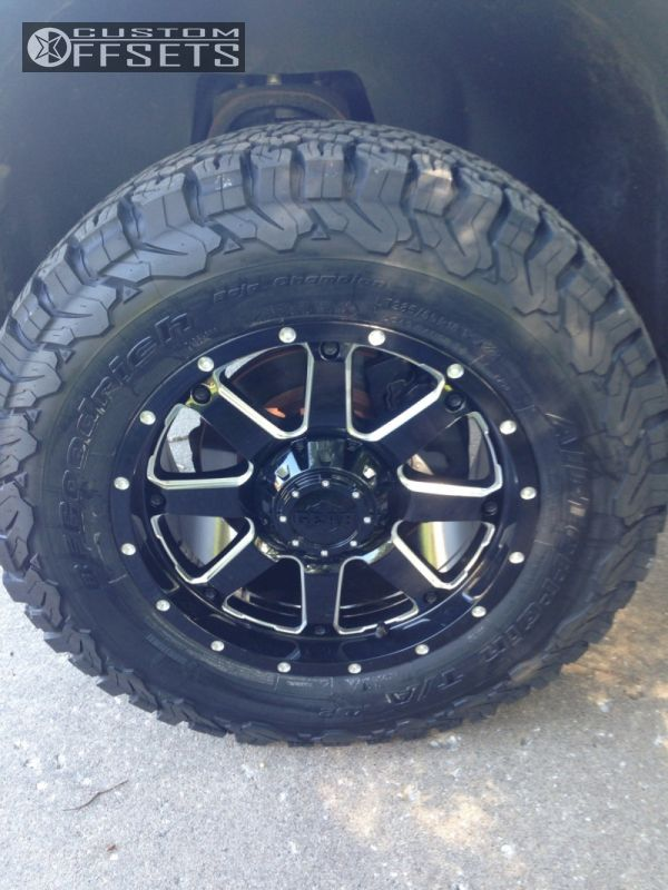 14 2007 Silverado 1500 Chevrolet Leveling Kit Gear Alloy Big Block Black Nearly Flush