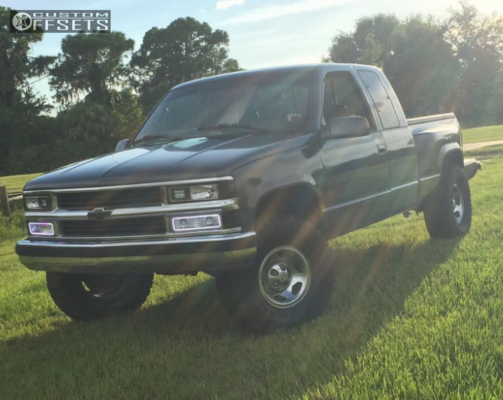 1 1997 C1500 Chevrolet Suspension Lift 4 Chevy 454ss Special Polished Aggressive 1 Outside Fender