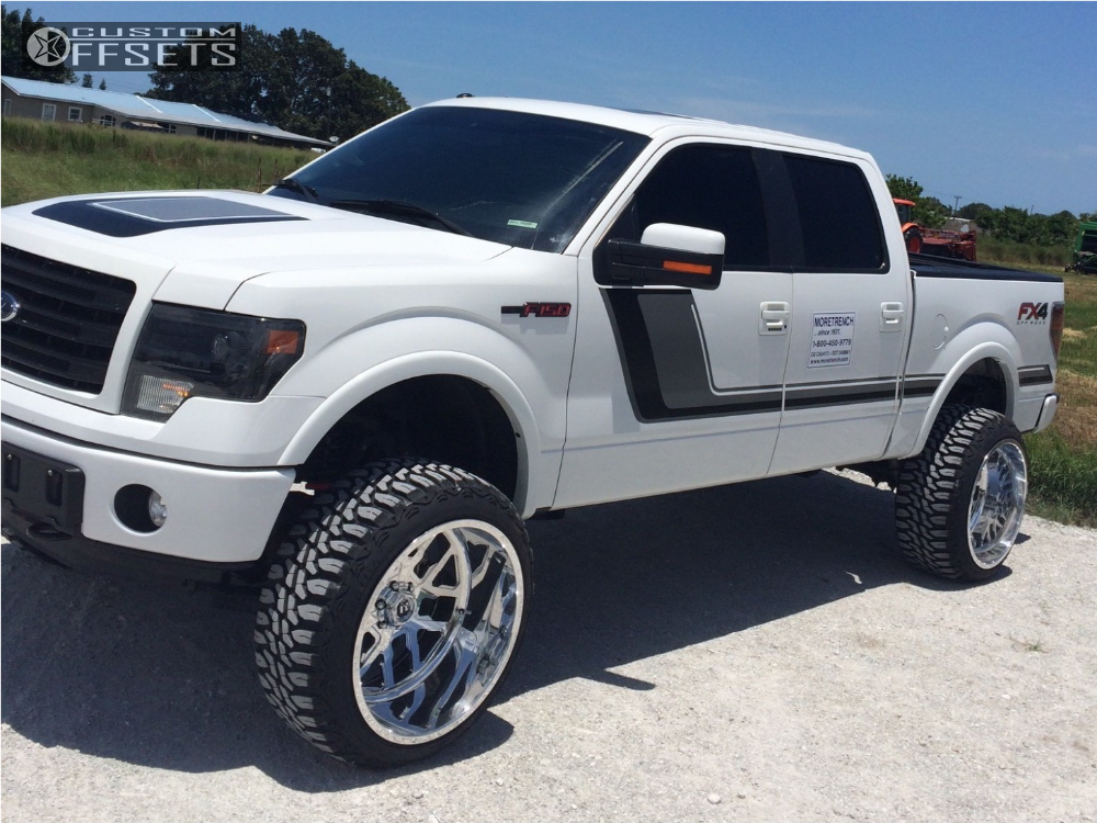2014 ford f 150 fuel forged ff45 rough country suspension lift 6in. Black Bedroom Furniture Sets. Home Design Ideas