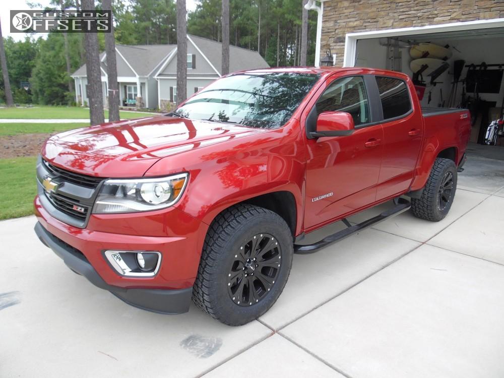 Custom F150 Wheels >> 2016 Chevrolet Colorado Helo He901 Stock Stock