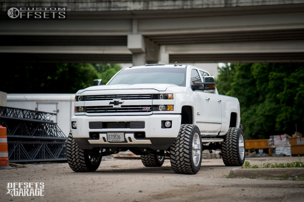 1 2016 Silverado 2500 Hd Chevrolet Bds Suspension Lift 65in Specialty Forged Sf010 Polished