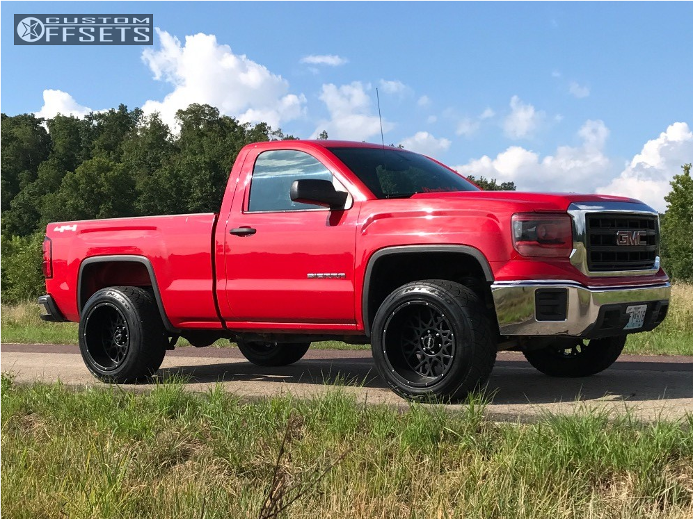 2014 Gmc Sierra 1500 Vision Rocker Rough Country Leveling