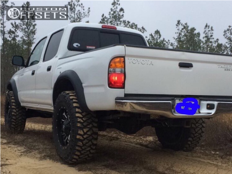 2004 Toyota Ta a Fuel Lethal Tcs Leveling Kit