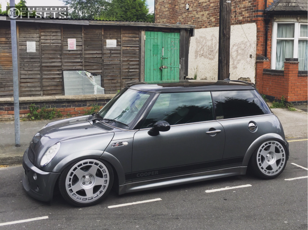 2005 mini cooper fifteen52 turbomac air lift performance bagged. Black Bedroom Furniture Sets. Home Design Ideas