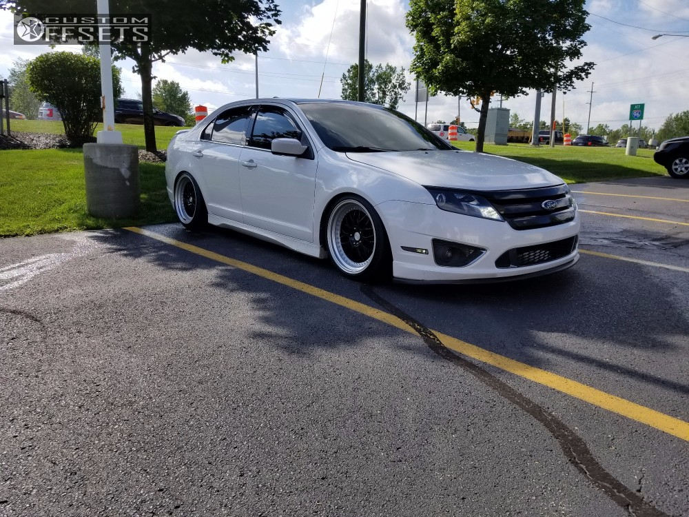 e6a9c157bf5 Wheel Offset 2011 Ford Fusion Flush Coilovers Custom Offsets