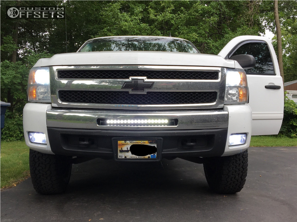 2 2010 Silverado 1500 Chevrolet Motofab Suspension Lift 3in Xd Xd820 Black