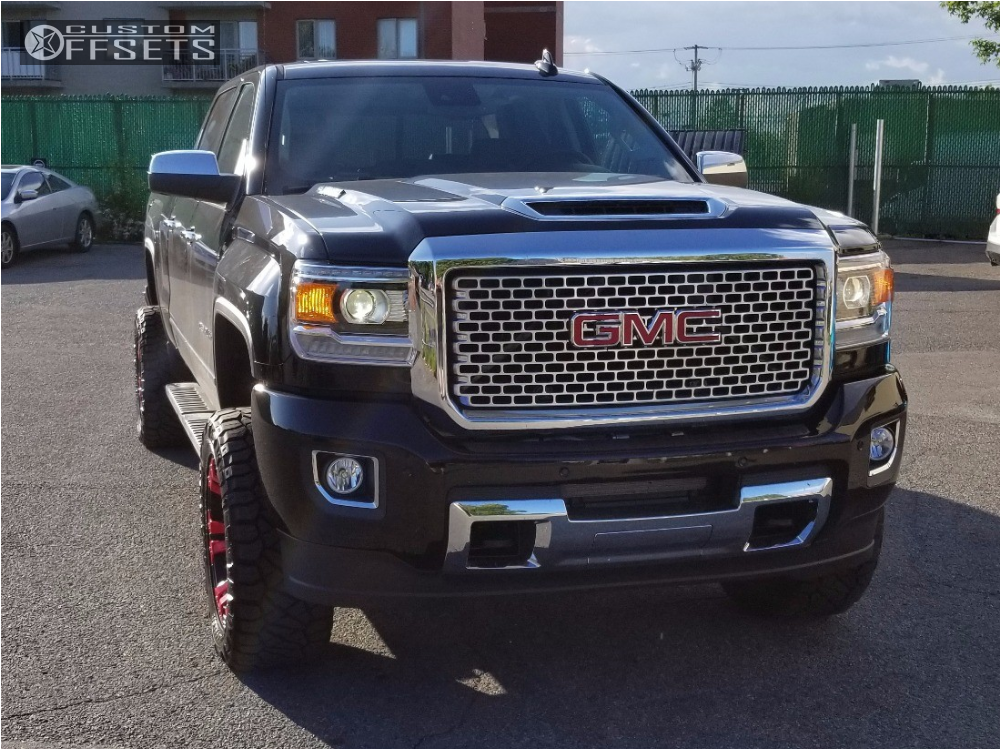 2017 gmc sierra 2500 hd xd monster zone suspension lift 35in. Black Bedroom Furniture Sets. Home Design Ideas