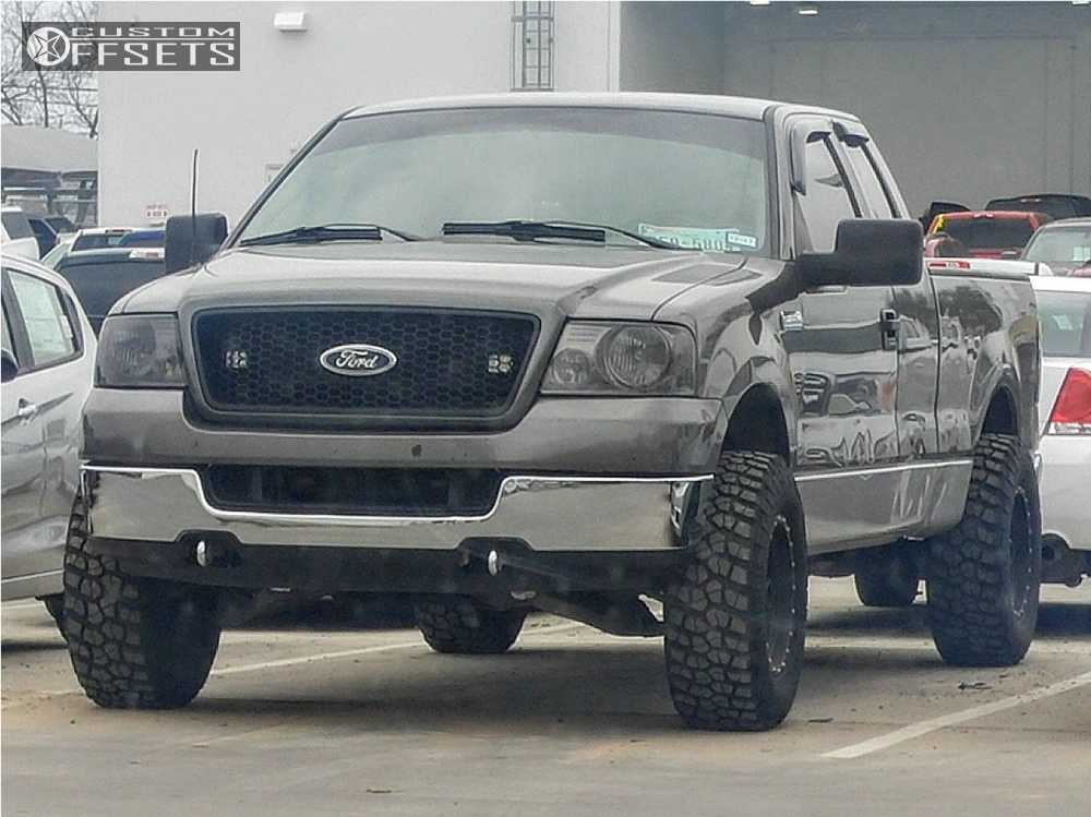 F Ford Stock Leveling Kit Method Standard Black on Ford F 150 With Method Standard S