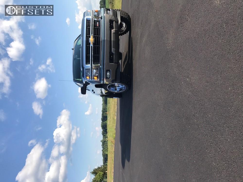 13 2014 Silverado 1500 Chevrolet Rough Country Suspension Lift 35in Moto Metal Mo962 Chrome