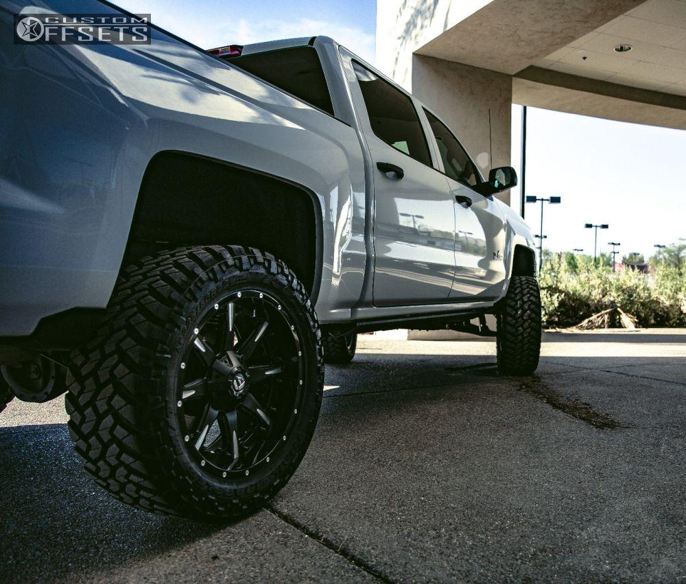 11 2014 Silverado 1500 Chevrolet Suspension Lift 6 Fuel Nutz Black Slightly Aggressive