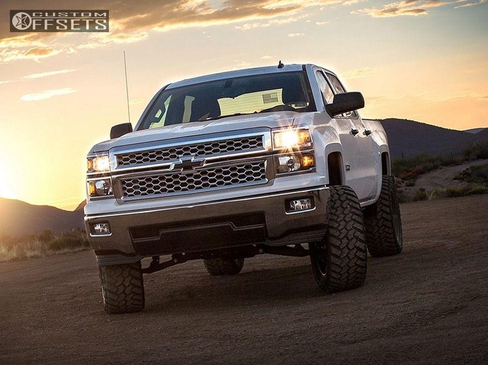 13 2014 Silverado 1500 Chevrolet Suspension Lift 6 Fuel Nutz Black Slightly Aggressive